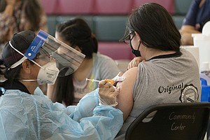 Photo for California's Rising COVID-19 Rate Sparks Pleas To Vaccinate