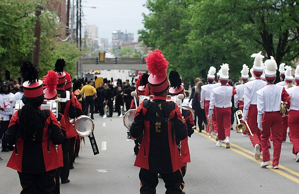 """A parade. """"River City Drumbeat"""" is a powerful story of mu..."""