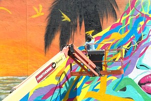 Photo for The Journey To Healing: Symbolic Mural Painted At Escondido Recuperative Center