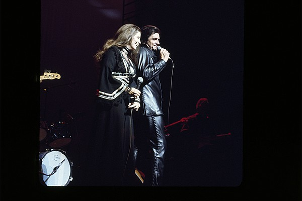 June Carter Cash and Johnny Cash in a never-before-seen 1...