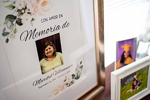 Photo for An Oakland Mom's Death From COVID: How Two Women Are Trying To Fill Her Shoes