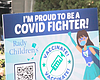 A sign is pictured outside of Rady Children's h...