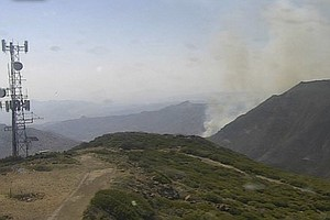 Photo for East County Vegetation Fire Burns 550 Acres, 25% Contained