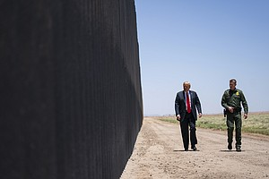 Photo for Border Patrol Chief, Who Supported Wall, Is Leaving Job