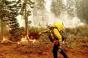 Photo for As Wildfires Rage, Biden Is Raising Federal Firefighter Pay