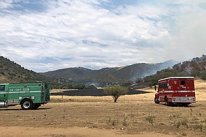 Photo for LIVE UPDATES: Santa Ysabel Brush Fire Now 90% Contained