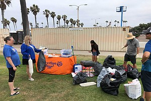 Photo for Surfrider San Diego Hosts Beach Cleanups Across County Following Holiday Weekend