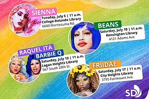 Photo for San Diego Public Library To Host Series Of Pride-Themed Storytimes