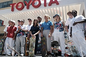 Photo for Skateboarding Innovator Reflects On Sport's First Olympics