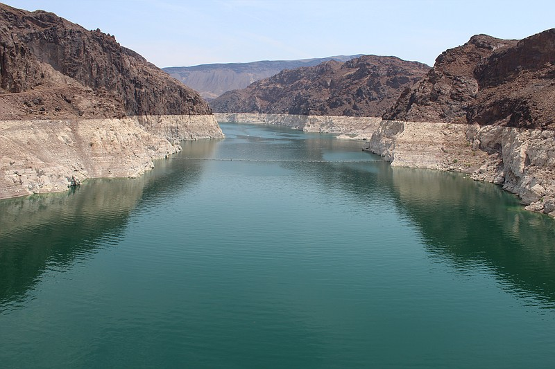 Lake Mead, the nation's largest reservoir, has been hit hard by warming tempe...