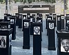 """The """"Say Their Names"""" Memorial exhibit at the S..."""