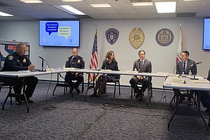 Photo for Attorney General Meets With San Diego Officials Regarding City Gun Violence P...