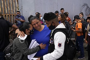 Photo for 'God Opened The Door': Mystery Surrounds US Asylum Picks