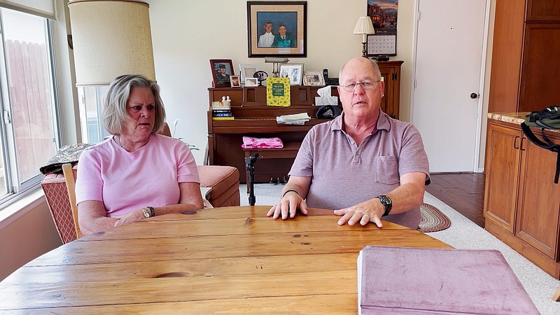 Pam and Pat O'Donohoe, parents of Justin O'Donohoe, talk about the death of t...