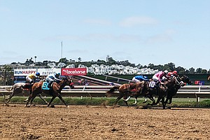 Photo for Fans Excited To Return To The Stands On Del Mar Opening Day