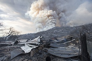 Photo for Couple Charged In California Fire Sparked By Gender Reveal