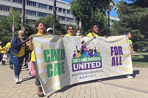 Photo for California Inks Contract With New 40K-Member Childcare Union