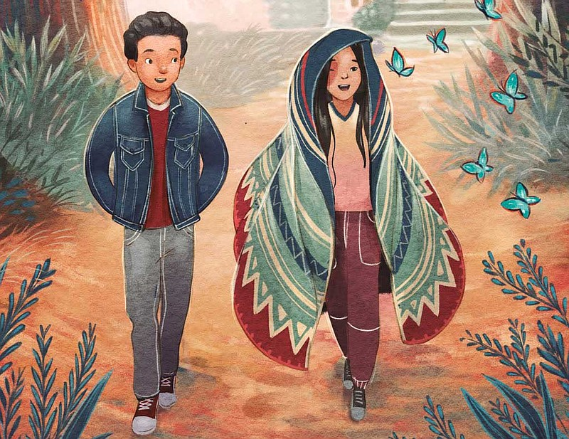 Detail from the cover of San Diego author Chris Baron's middle grade novel-in...