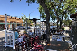 Photo for Council Committee Approves 'Spaces As Places' Outdoor Dining Program