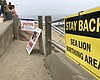 San Diego recently added signs to encourage peo...