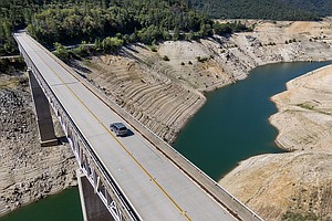 Photo for California Hydroelectric Plant Shut Down As Water Level Drops