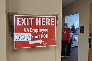 Photo for The VA Is Mandating Vaccines For Its Health Care Employees, But Enforcement M...