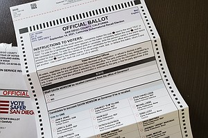 Photo for Deadline To Register To Vote By Mail In Recall Is Monday