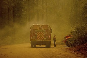 Photo for National Forests Closed As California Wildfires Surge