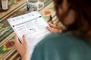 Photo for How To Fill Out Your Recall Ballot — And How To Correct A Mistake