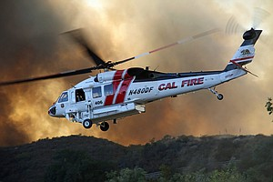 Photo for Chaparral Fire In Cleveland National Forest 13% Contained At 1,500 Acres