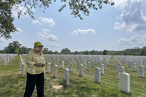 Photo for Arlington National Cemetery Is Filling Up, So The Army May Limit Who Can Be B...
