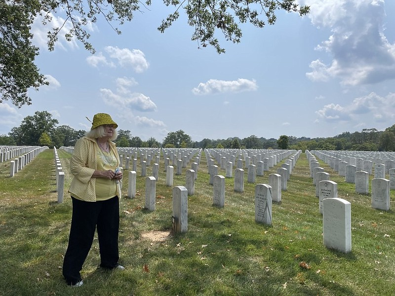 Kathi Dugan, 73, retired from the Navy after 30 years. Her parents are both b...