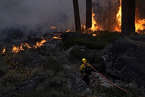 Photo for Evacuations Lifted For Thousands In Tahoe As Wildfire Stalls
