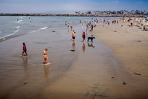 Photo for Rip Currents Also Arrive As Labor Day Comes To The Beach