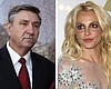 This combination photo shows Jamie Spears, left...