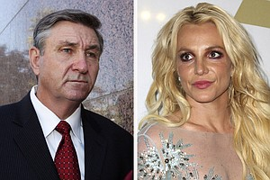 Photo for Britney Spears' Father Files To End Court Conservatorship