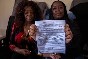 Photo for Days After County Eviction Ban Expired, San Diego Tenants Forced Out