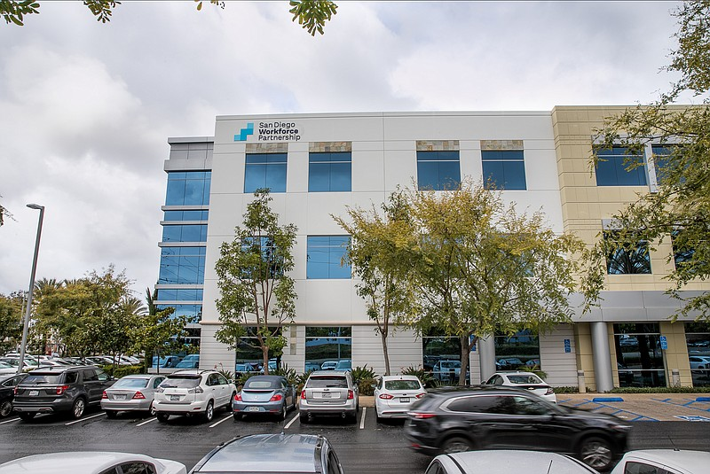 The San Diego Workforce Partnership's office is shown in this undated photo.