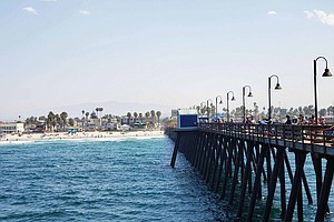Photo for Apparent Structural Damage Forces Closure Of Imperial Beach Pier
