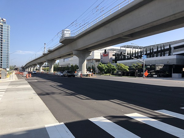 Major outdoor public works project in San Diego County, m...