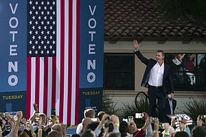 Photo for Stay Or Go? Californians To Decide Fate Of Gov. Gavin Newsom