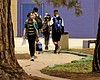 Students at Mira Mesa High School continue to w...