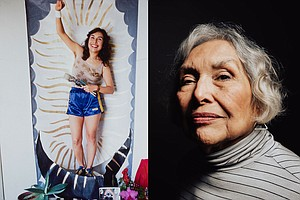 Photo for Remembering Yolanda López, Chicana Artist And Activist From Barrio Logan