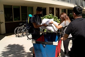 Students Move-in To UC San Diego Campus With Strict COVID-19 Protocols