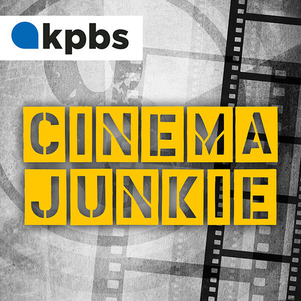Cinema Junkie podcast branding