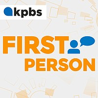First Person podcast branding