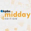 KPBS Midday Edition podcast branding