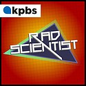 Rad Scientist podcast branding