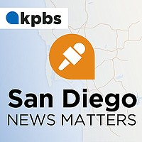 San Diego News Matters podcast branding