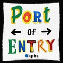 Port of Entry podcast branding